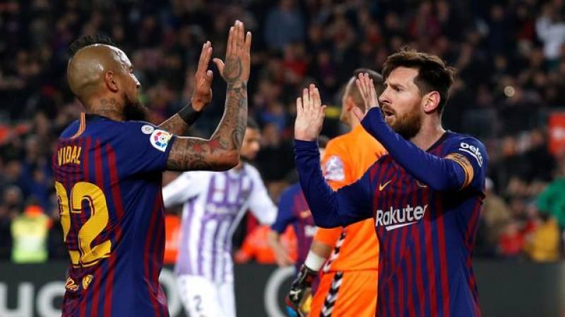16 02 2019 Messi converte um pênalti e perde outro em vitória do Barça  Poderia ser goleada bb4129c56c334